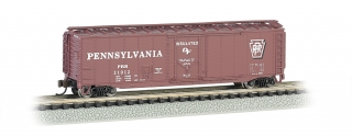 Bachmann N 50 FT Plug-Door Box Car - PRR
