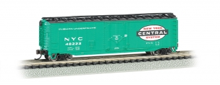 Bachmann N 50 FT Plug-Door Box Car - New York Central