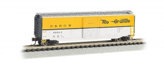 Bachmann N 50 FT Sliding Door Box Car - Rio Grande™