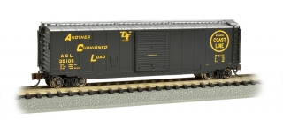 Bachmann N 50 FT Sliding Door Box Car - Atlantic Coast Line®