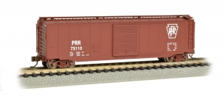 Bachmann N 50 FT Sliding Door Box Car - Pennsylvania