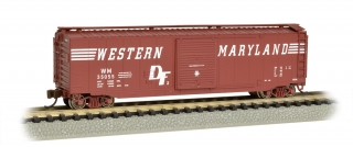 Bachmann N 50 FT Sliding Door Box Car - Western Maryland®