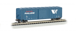 Bachmann N 50.5 FT Outside Braced Box Car - Montana Rail Link