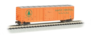 Bachmann N 50.5 FT Outside Braced Box Car - Maine Central