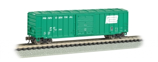 Bachmann N 50.5 FT Outside Braced Box Car - Penn Central