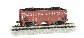 Bachmann N 55-Ton 2-Bay Hopper - Western Maryland®