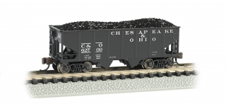 Bachmann N 55-Ton 2-Bay Hopper - Chesapeake & Ohio®
