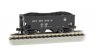 Bachmann N 55-Ton 2-Bay Hopper - Baltimore & Ohio®