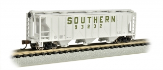 Bachmann N PS-2 Three-Bay Covered Hopper - LN - Southern