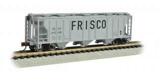 Bachmann N PS-2 Three-Bay Covered Hopper - LN - Frisco