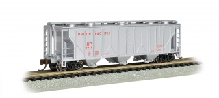 Bachmann N PS-2 Three-Bay Covered Hopper - LN - Union Pacific®