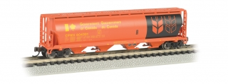 Bachmann N 4-Bay Cylindrical Grain Hopper - Saskatchewan