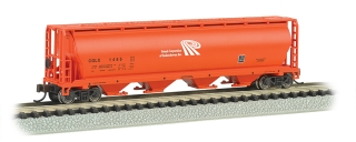 Bachmann N 4-Bay Cylindrical Grain Hopper - Potash