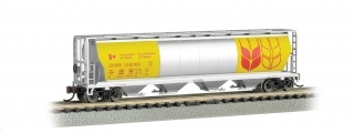 Bachmann N 4-Bay Cylindrical Grain Hopper - Government of Canada