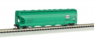 Bachmann N 56 FT 4-Bay Center-Flow Hopper - New York Central