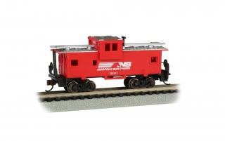 Bachmann N 36 FT Wide-Vision Caboose - Norfolk Southern #X501