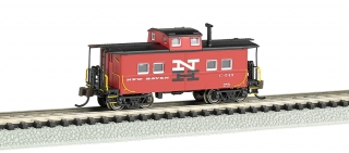 Bachmann N Northeast Steel Caboose - New Haven #C-543