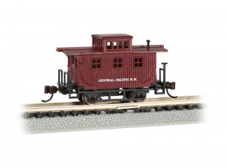 Bachmann N Old-Time Caboose - Central Pacific