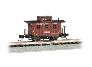 Bachmann N Old-Time Caboose - Pennsylvania Lines