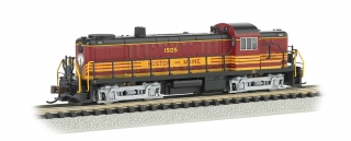 Bachmann N Alco RS-3 - Boston & Maine #1505 - DCC