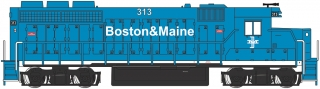 Bachmann N EMD GP40 - Boston & Maine #313