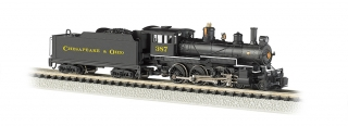 Bachmann N Baldwin 4-6-0 - Chesapeake & Ohio® #387 - DCC