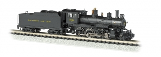 Bachmann N Baldwin 4-6-0 - Baltimore & Ohio® #2020 - DCC