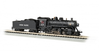 Bachmann N Consolidation 2-8-0 - Union Pacific® #619 - DCC + Sound
