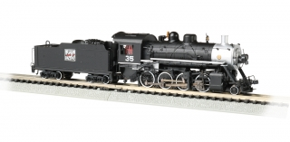 Bachmann N Consolidation 2-8-0 - Western Pacific™ #35 - DCC + Sound