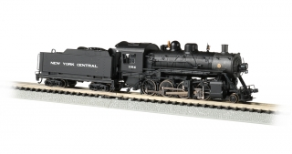 Bachmann N Consolidation 2-8-0 - New York Central #1156 - DCC + Sound
