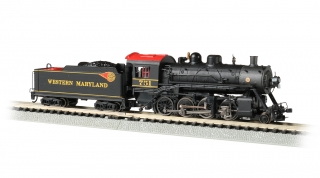 Bachmann N Consolidation 2-8-0 - Western Maryland® #751 - DCC + Sound