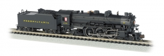 Bachmann N K4 4-6-2 - Pennsylvania Post-War #3750 - DCC + Sound