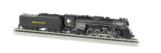 Bachmann N 2-8-4 Berkshire - Nickel Plate#759 - DCC + Sound
