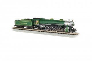 Bachmann N 4-8-2 Light Mountain - Southern #1489 - DCC + Sound