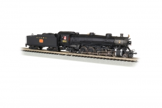 Bachmann N 4-8-2 Light Mountain - NC & St. Louis #551 - DCC + Sound