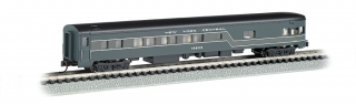 Bachmann N 85 FT Smooth-Sided Observation - New York Central