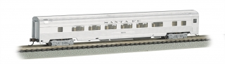 Bachmann N 85 FT Fluted Sides Door Coach car - Santa Fe