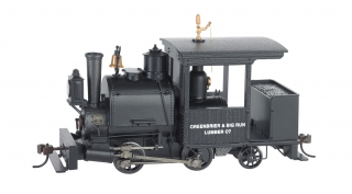 Bachmann On30 0-4-2 Porter - Greenbrier & Big Run Lumber Co. - DCC