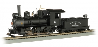 Bachmann On30 0-6-0 - Allegheny Iron Works - DCC