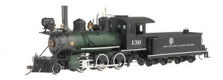 Bachmann On30 2-6-0 - Denver & Rio Grande Western™ #136