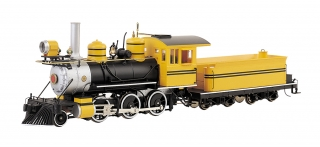 Bachmann On30 2-6-0 - Painted Unlettered - Bumble Bee - DCC