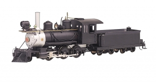 Bachmann On30 2-6-0 - Painted Unlettered Black - DCC