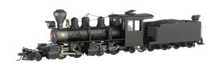 Bachmann On30 Baldwin 2-4-4-2 Articulated - Black Steel Cab - DCC