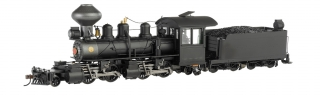 Bachmann On30 Baldwin 2-4-4-2 Articulated - Black Wood Cab - DCC