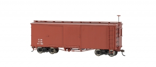 Bachmann On30 Box Car - Oxide Red Data Only