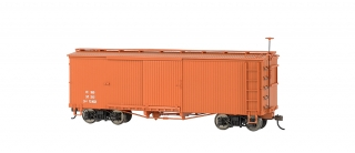 Bachmann On30 Box Car - Mineral Red Data Only