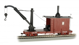 Bachmann On30 Derrick Car - MOW Oxide Red