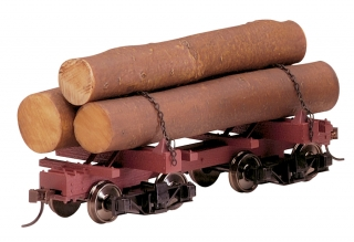 Bachmann On30 Skeleton Log Car