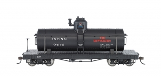 Bachmann On30 Tank Car - Durango & Silverton #0474 Fire Suppression