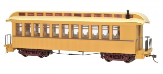 Bachmann On30 Passanger Car - Buff & Tan